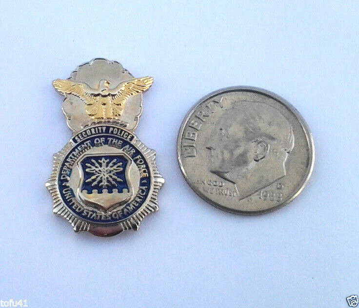 """UNITED STATES AIR FORCE SP ( 1"""" ) Military Hat Pin P02826 EE"""