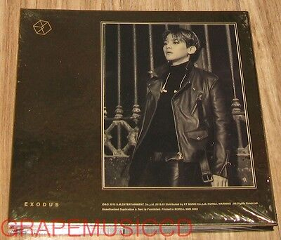 EXO EXODUS KOREAN VERSION 2ND ALBUM BAEKHYUN CD + PHOTOCARD SEALED