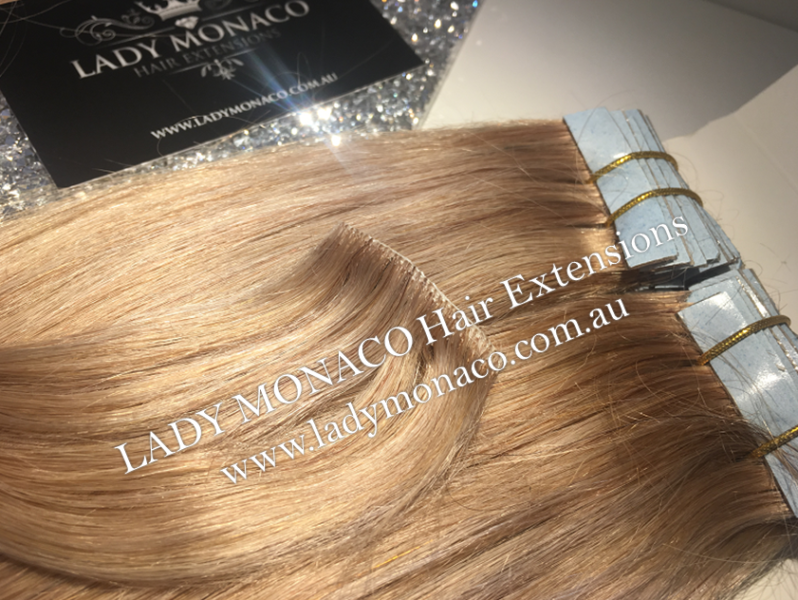 Invisible Tape Hair Extensions Lady Monaco Hair Extensions