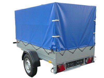 STEMA Anhänger OPTI 750 Kg mit Plane 13Zoll 100KM/H Freig. Neu Fachhändler