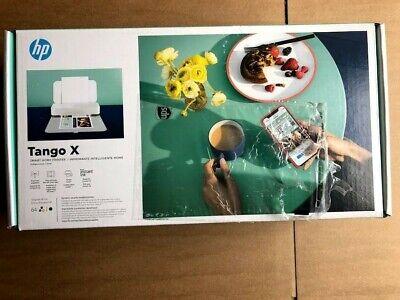 NEW! HP Tango X Wireless Instant Ink Ready Printer Linen Cover 3DP65A#B1H Alexa
