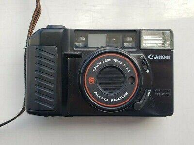 Canon Sure Shot AF35M II Film Camera 38mm F2.8 Lens with soft case