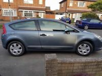 breaking a citroen c4 petrol coupe 3 door vtr all of the parts are available