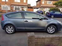 breaking a nice citroen c4 petrol coupe 3 door vtr all of the parts are available
