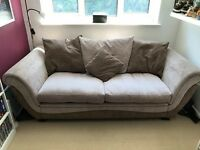 Sofa Suite - DFS sofa, sofa bed, armchair, footstool