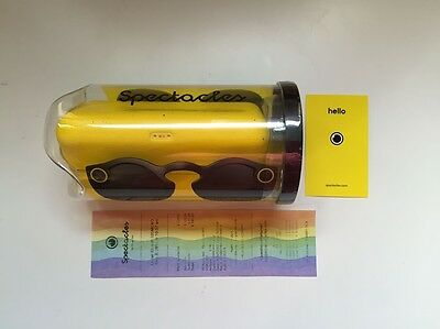 NEW  Snapchat Spectacles Glasses  Black NYC Store