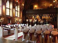 Wooden columns x4 for weddings