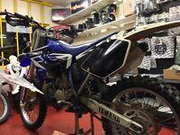 Yamaha YZ250 2-t road reg mx enduro