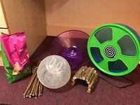 Hamster Toys And Accessories ALL For £30