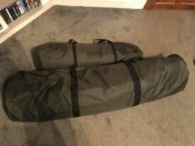 Fox Retreat + 1 man bivvy and extended over wrap