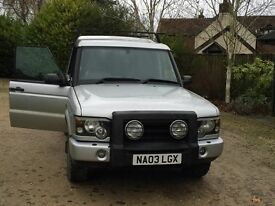 Land Rover Discovery 2 commercial 4x4 diesel