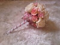 Beautiful artificial keep sake bouquets at affordable prices. Ready made or made to order