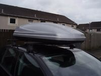 THULE 375 LITRE & 480 LITRE ROOF BOX HIRE STARTING @ £32 A WK