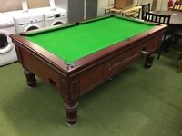 Pub slate pool table 7 x 4