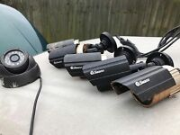 Swann cctv cameras x6