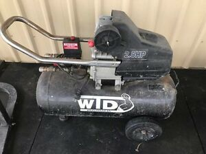 2.5hp  compressor working order Rosevale Ipswich South Preview