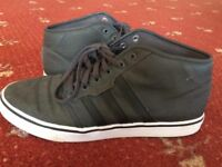 Adidas Grey Mid Top Shoes