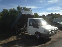 Ford Transit 2.4 TD 350 Tipper 2dr - low mileage