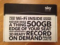 Sky HD Wifi 500gb Box