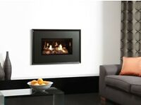 Gazco Riva2 670 Evoke, Wall Mounted Gas Fire. RRP £1800.