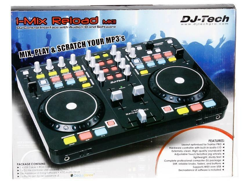 dj Tech i Mix Reload Dj-tech I-mix-reload Mkii