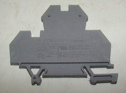 1 pc. VDE Euro D4-2 Terminal Block, EN60947-7-1, 4mm, 600V, 30A, New