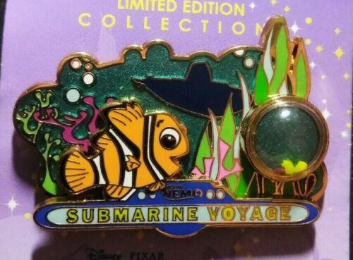 Disney Finding Nemo Submarine Voyage Piece of History LE DLR Pin