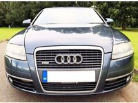 CHEAP 06 AUDI A6 SLINE 2.0 TDI S LINE AUTOMATIC REMAPPED 160BHP 1 OWNER LONG MOT A4