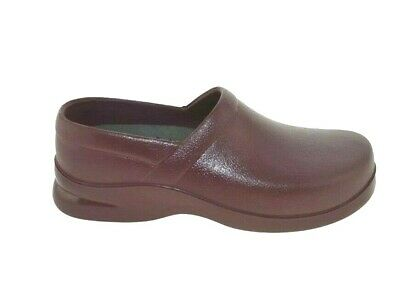 Women's Klogs USA Boca Wine Shoes Comfort Nurse Work Chef Slip On Various (Boca Women)