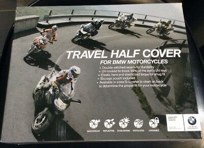 BMW Motorcycle Travel Half Cover Large R1200GS R1200RT (Half Cover Motorcycle Covers)