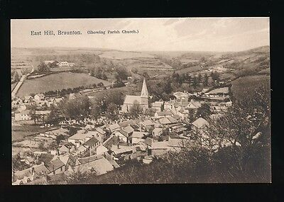 Devon BRAUNTON East Hill General view Parish Church PPC