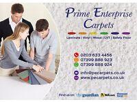 Prime Enterprise Carpets - Carpets, Laminate, Vinyl, Wood Flooring & More - Suppliers & Fitters