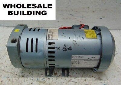 Gast Vacuum Pump 1023-101q-g279 Marathon Motor 5k49mn4012 34hp 17251425rpm