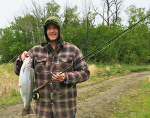 Fly Fishing for Rainbow Trout at it's Best!