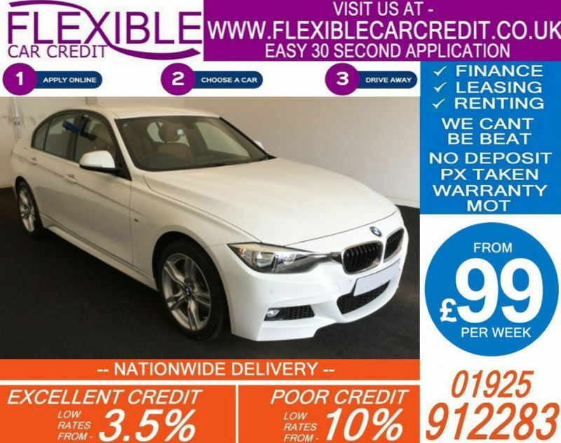 2016 BMW 335D 3.0 XDRIVE M-SPORT GOOD BAD CREDIT CAR FINANCE FROM 99 P/WK
