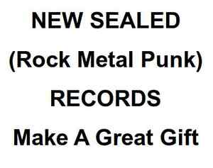 Sealed Rock Metal Punk Records For Christmas