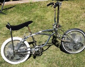 Custom Low Rider Cruiser Bike