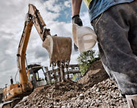 Site Servicing, Land Clearing, Under Ground Services, Contractor