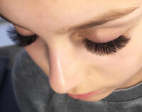 Professional Eyelash Extensions $80 at Sugarbox on Cambie