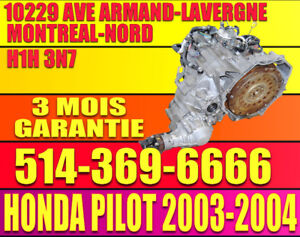 Transmission Automatique Honda Pilot 2003-2004-2005 AWD 4X4