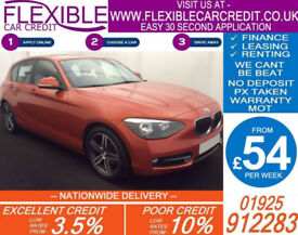 2014 BMW 118D 2.0 SPORT GOOD / BAD CREDIT CAR FINANCE AVAILABLE