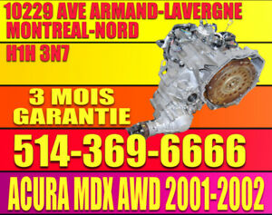 Transmission Automatique Acura MDX 3.5 2001 2002 4X4 4WD
