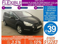 2010 FORD S-MAX 2.0 TDCI TITANIUM GOOD / BAD CREDIT CAR FINANCE AVAILABLE