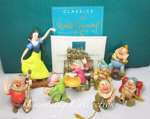 Snow White & Seven Dwarfs Ornament Set