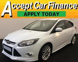 Ford Focus 1.0 SCTi ( 125ps ) EcoBoost 2013MY Zetec S FROM £46 PER WEEK!