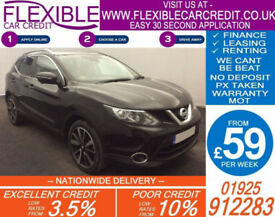 2014 NISSAN QASHQAI 1.5 DCI TEKNA GOOD / BAD CREDIT CAR FINANCE AVAILABLE
