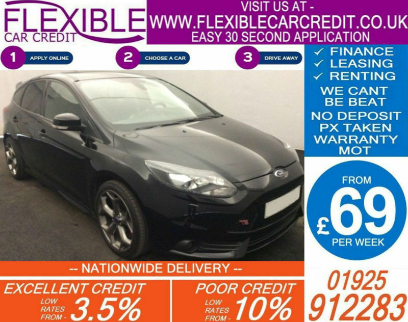 2015 FORD FOCUS ST3 2.0 TDCI GOOD / BAD CREDIT CAR FINANCE AVAILABLE
