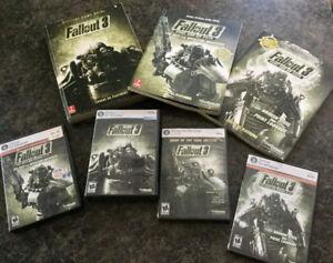 4 jeux et 3 guides de jeux