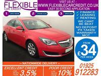 2014 VAUXHALL INSIGNIA 2.0 CDTI TECH LINE GOOD BAD CREDIT CAR FINANCE AVAILABLE
