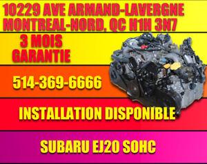 2006-2007-2008-2009-2010-2011 subaru legacy moteur ej20 ej25